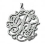 sterling silver , 7 Nice Monogram Necklace Lauren Conrad In Jewelry Category
