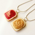 strawberry jam peanut butter necklaces , 8 Outstanding Peanut Butter And Jelly Necklaces In Jewelry Category