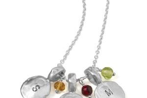 1200x1414px 9 Fabulous Grandchildren Birthstone Necklace Picture in Jewelry