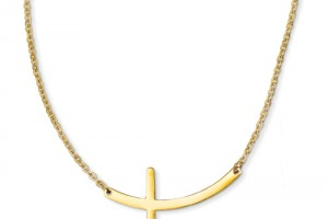 500x500px 6 Best Sideways Cross Necklace Meaning Picture in Jewelry