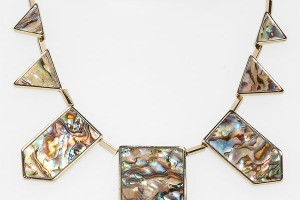 Jewelry , 8 Lovely House Of Harlow Abalone Necklace :  what is abalone
