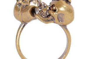 Jewelry , 11 Unique Skull Wedding Rings : Alexander McQueen