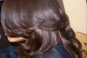 587x600px 11 Popular Black Sew In Hair Styles Picture in Hair Style