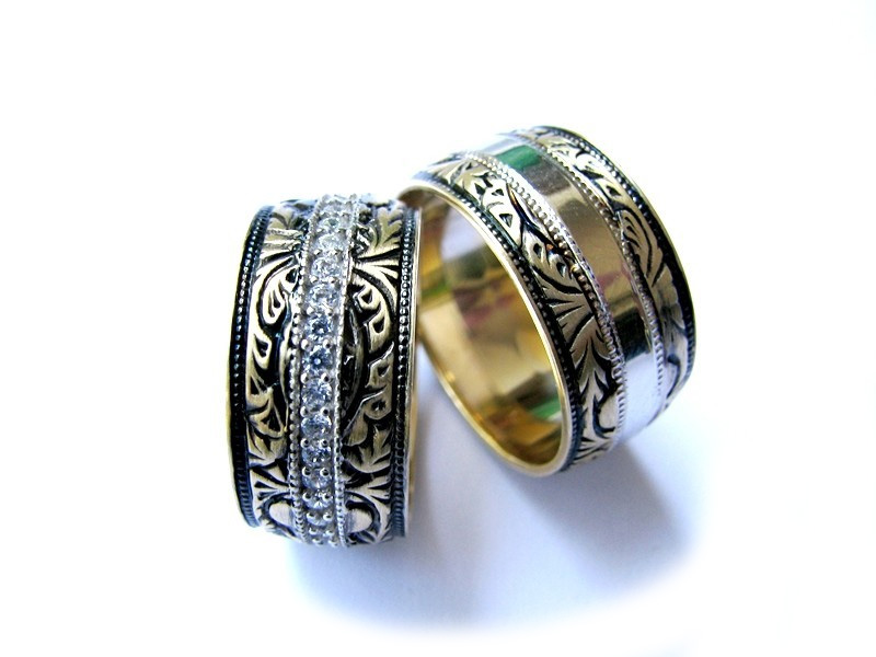 large 800 x 600 - Harley Wedding Rings