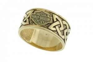 720x497px 14 Awesome Harley Davidson Wedding Rings Picture in Jewelry