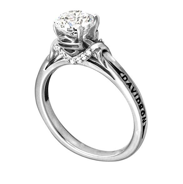 large 585 x 588 - Harley Davidson Wedding Rings