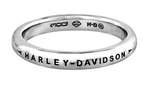 Jewelry , 14 Awesome Harley Davidson Wedding Rings : Script Women Wedding Band