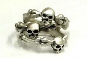 513x513px 11 Unique Skull Wedding Rings Picture in Jewelry