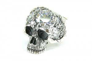 500x334px 11 Unique Skull Wedding Rings Picture in Jewelry