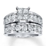 14K White Gold , 9 Awesome Jared Wedding Sets In Jewelry Category