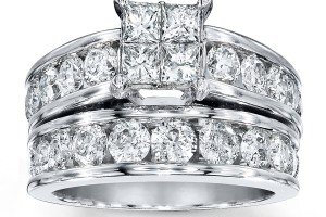 Jewelry , 9 Awesome Jared Wedding Sets : 14K White Gold