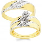 Wedding Ring Set , 10 Charming Cheap His And Her Wedding Ring Sets In Jewelry Category
