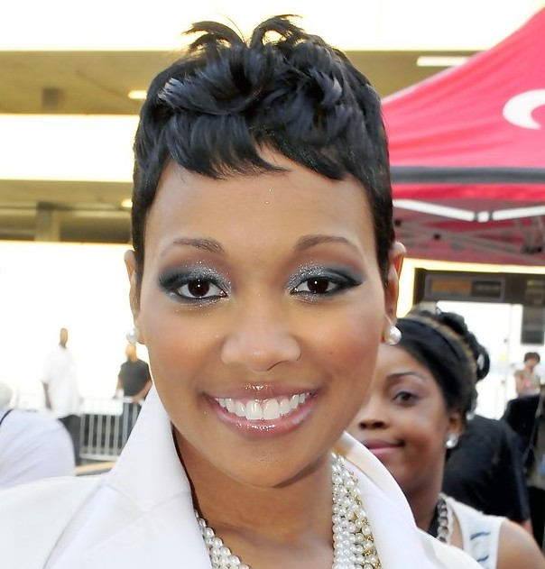 Hair Style , 10 Charming Black Styles For Short Hair : African American Short Black Wavy Hairstyle 2013