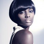 Best Short Black Hairstyles for Round Faces , 8 Beautiful Short Black Hairstyle In Hair Style Category