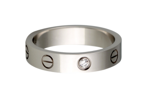Jewelry , 8 Awesome Cartier Wedding Bands For Men : Cartier Love Wedding Band