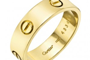 Jewelry , 8 Awesome Cartier Wedding Bands For Men : Cartier Mens Gold