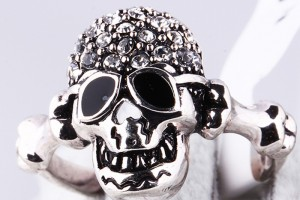 700x700px 9 Good Platinum Skull Ring Picture in Jewelry
