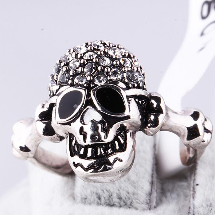 Jewelry , 9 Good Platinum Skull Ring : Cheap Platinum Skull Ring