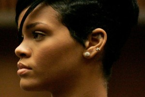 Hair Style , 7 Popular Black People Short Hair Styles : Chris Brown Court Appearance