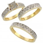 Gallery of Wedding Ring Sets , 10 Charming Cheap His And Her Wedding Ring Sets In Jewelry Category