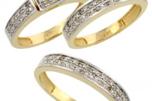500x500px 10 Charming Cheap His And Her Wedding Ring Sets Picture in Jewelry