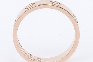 Jewelry , 8 Lovely Cartier Wedding Bands Women : Gold Love Wedding Band