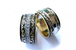 Jewelry , 9 Gorgeous Harley Davidson Wedding Bands : Harley Davidson Men Wedding Bands