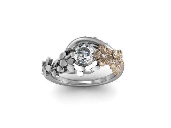 Jewelry , 9 Fabulous Hawaiian Rings For Women : Hawaiian Malie Leaf Ring