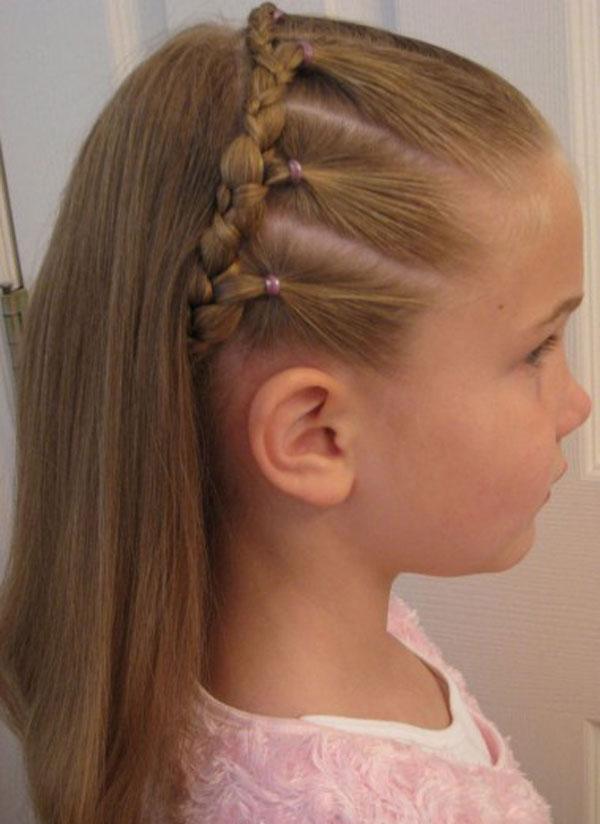 Hair Style , 9 Lovely Simple Braid Hairstyles For Black Girls : Kids Braid Designs
