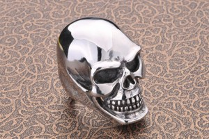 Jewelry , 5 Awesome Cheap Skull Rings For Men : Large Skull Ring for Men