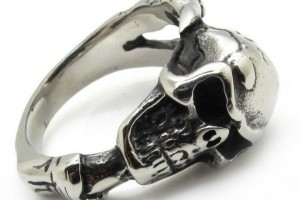 Jewelry , 9 Stunning Skull Wedding Bands For Men : Mens Skull Wedding Bands