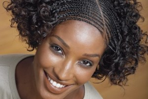 Hair Style , 10 Beautiful Braids For Short Black Hair : Micro Braids Hairstyles