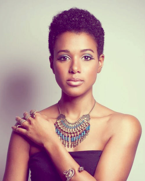 7 Nice Short Hairstyles For Black Women in Hair Style