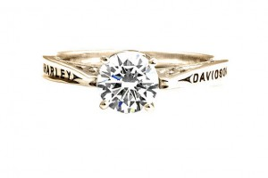 Jewelry , 9 Gorgeous Harley Davidson Wedding Bands : Original Classic Engagement Ring