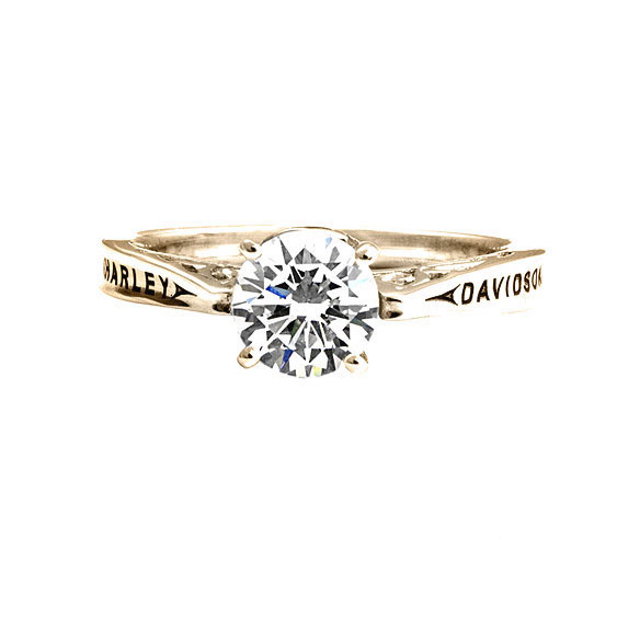 Harley Davidson Wedding Rings.Original Classic Engagement Ring Woman Fashion Nicepricesell Com