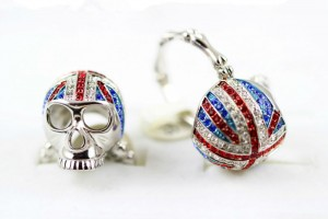 Jewelry , 9 Good Platinum Skull Ring : Platinum Plated Skull Rings