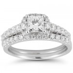 Round Brilliant Diamond Wedding Set , 8 Good Costco Wedding Ring Sets In Jewelry Category