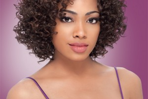 Hair Style , 9 Wonderful Short Curly Weave Hair : Short Curly Half Wig