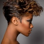 Short wavy hairstyles for black women 2013 , 9 Fabulous Short Hairdos For Black Women In Hair Style Category