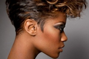 500x627px 9 Fabulous Short Hairdos For Black Women Picture in Hair Style