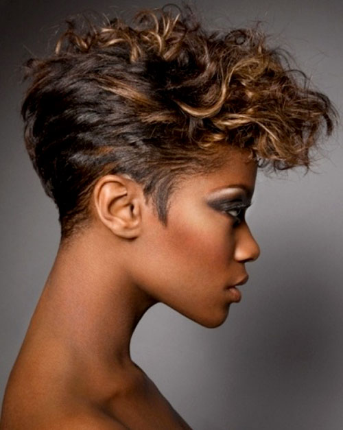 9 Fabulous Short Hairdos For Black Women in Hair Style