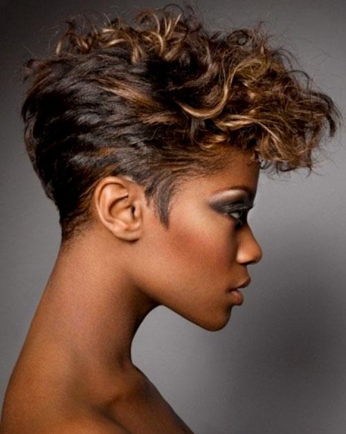 Hair Style , 9 Fabulous Short Hairdos For Black Women : Short Wavy Hairstyles For Black Women 2013