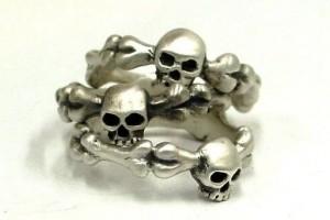 Jewelry , 8 Unique Skull Wedding Ring : Simple Skull Ring