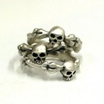 Simple Skull Ring , 9 Cool Skull Wedding Band In Jewelry Category