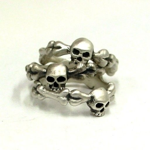 Jewelry , 9 Cool Skull Wedding Band : Simple Skull Ring