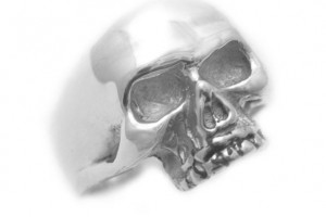 651x600px 9 Good Platinum Skull Ring Picture in Jewelry