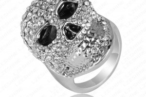 Jewelry , 9 Stunning Skull Wedding Bands For Men : Skull Wedding Rings For Men