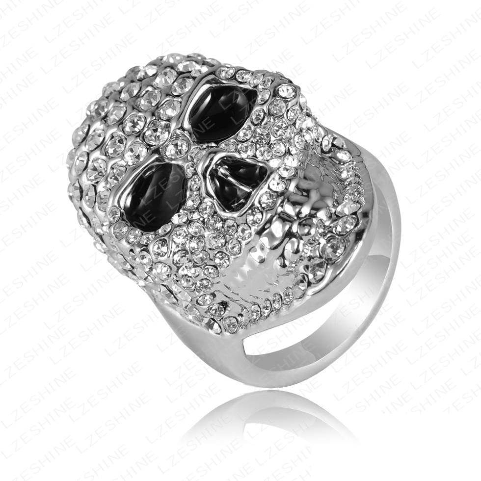 large 980 x 980 - Skull Wedding Rings For Men