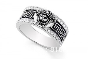 Jewelry , 9 Good Platinum Skull Ring :  Skull head Ring exaggerated rings