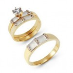 Wedding Ring Sets Cheap His And Her , 10 Charming Cheap His And Her Wedding Ring Sets In Jewelry Category